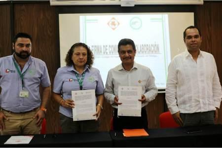 El Colegio de Ingenieros Civiles del Estado de Hidalgo, firmó convenio de colaboración con la UTHH y con Laboratorios Coahuila