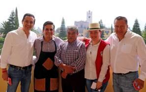 En el inicio de su campaña Roberto Núñez se compromete a legislar con trabajo, constancia y liderazgo1