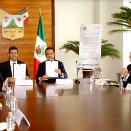 FEPADE y Gobierno del Estado de Hidalgo signan convenio de colaboración1