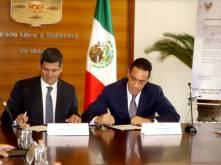 FEPADE y Gobierno del Estado de Hidalgo signan convenio de colaboración2
