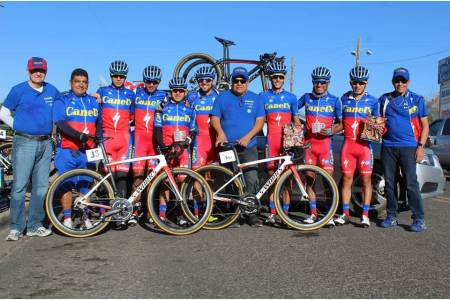 """Fernando Islas y Leonel Palma corren en el """"Tour of the Gila"""""""