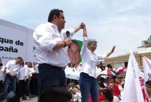 Francisca Ramírez arranca campaña con el respaldo de los candidatos de la Coalición Todos por México