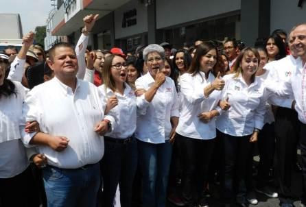 Francisca Ramírez arranca campaña con el respaldo de los candidatos de la Coalición Todos por México4