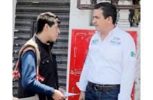 Francisco Sinuhé enfrentará los problemas de infraestructura urbana4