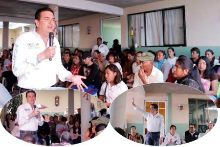 Francisco Sinuhé propone generar igualdad de oportunidades