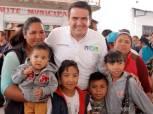 Francisco Sinuhé Ramírez Oviedo y Nuvia Mayorga visitan Villa de Tezontepec2
