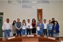 """IEEH recibe solicitud de registros de candidaturas a diputaciones locales del PRI, la Coalición Por Hidalgo al Frente"""", PT, MORENA, PES, PVEM Y MC.2"""