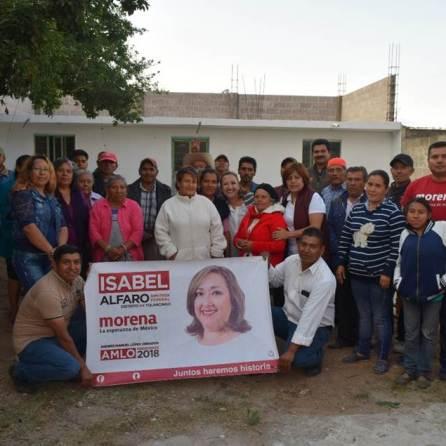 Impulsaremos la gestión de programas en el Congreso de la Unión, Isabel Alfaro
