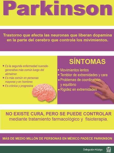 IMSS, Invita a la población a vigilar síntomas de Parkinson