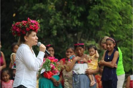 Inicia Sayonara Vargas recorridos por comunidades de la huasteca y la sierra4