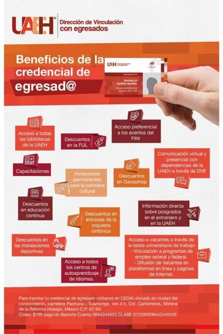 Invita UAEH a tramitar credencial de egresados.jpg