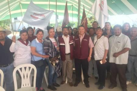 Julio Menchaca se compromete a disminuir la migración