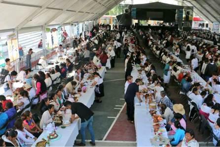 Participan mil 732 cocineras y cocineros durante muestra gastronómica de Santiago de Anaya