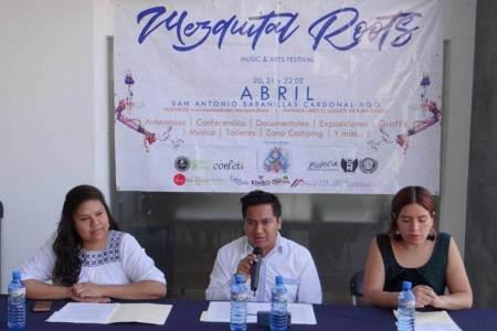 """Presentan programa del Festival Multicultural """"Mezquital Roots"""".jpg"""