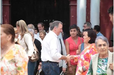 Previo al primer debate presidencial, José Antonio Meade convive en familia