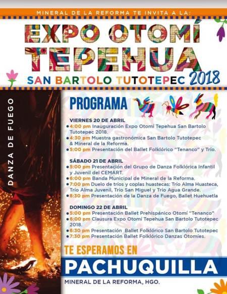 programa expo otomi tepehua, pachuquilla