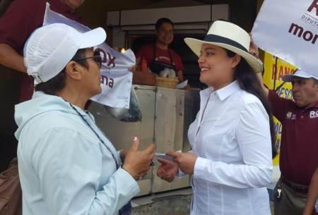 Rox Montealegre, arranca campaña por diputación local