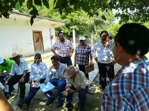 Sayonara Vargas visita comunidades rurales del municipio de Tlanchinol