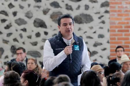 Sinuhé Ramírez Oviedo visitó el municipio de Villa de Tezontepec2