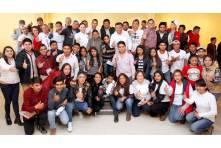 Sostiene Nuvia Mayorga encuentro con jóvenes universitarios en la sierra hidalguense4