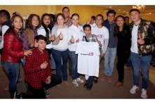 Sostiene Nuvia Mayorga encuentro con jóvenes universitarios en la sierra hidalguense5