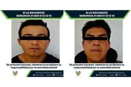 Vinculan a proceso a dos imputados en robo de vehículo ocurrido en Tulancingo