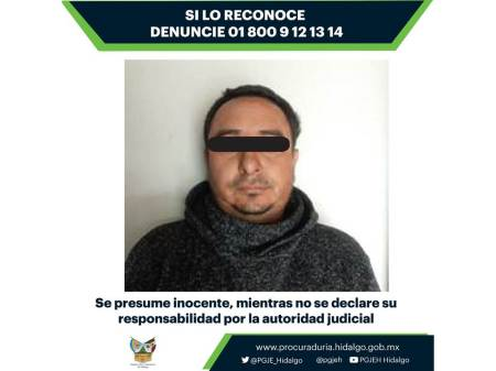Vinculan a proceso a un hombre relacionado con asalto y robo registrado en la carretera Pirámides Tulancingo