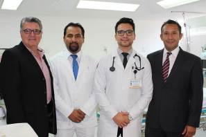Visita director del ICSA Hospital General de Balbuena
