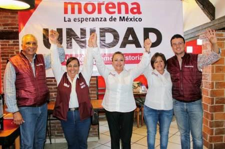 Angélica García, Isabel Alfaro y Antonio Hernández reafirman su compromiso con la ciudadanía