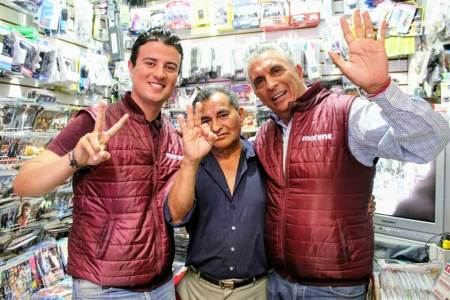 Apoyaré las iniciativas que impulsen las micro y medianas empresas, Toño Hernández