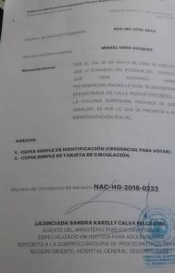 Candidato a diputado local por Pachuca, víctima de la delincuencia4
