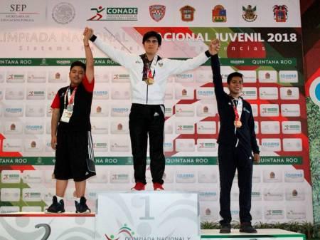 Cierra Hidalgo con dos oros y dos platas en Olimpiada Nacional 2018