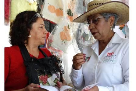 Combate de frente a las adicciones propone Francisca Ramírez4