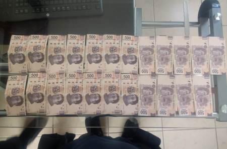 Compraban mercancía con dinero falso, fueron detenidos por la policía de Tizayuca