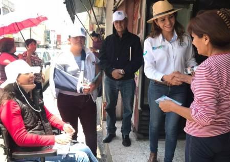 Desde el congreso Eréndira Contreras legislará por mejores condiciones para las mujeres