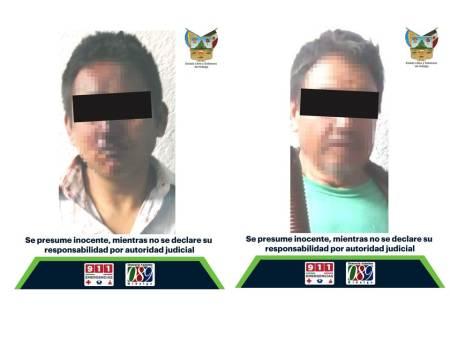 Detenidos en Pachuca, uno por imputación de agresión a una mujer; otro le encontraron un arma de fuego