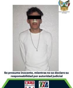 Detienen a sujeto implicado en asalto a taxista de Pachuca
