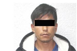 Detienen a un sujeto imputado en el asalta a una farmacia ubicada en Mineral de la Reforma