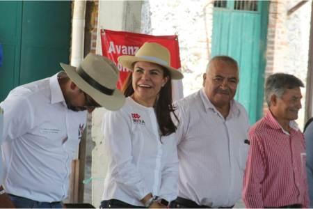 """""""Las comunidades conocen mi trabajo y mis propuestas"""", Mayka Ortega"""