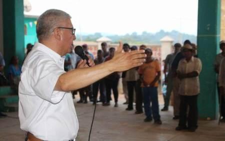 """""""No les fallaremos a las familias de la sierra"""", aseguró Chucho Pérez"""