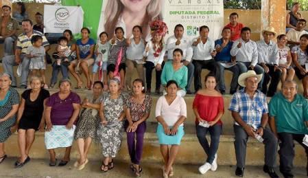 El campo, prioridad para Sayonara Vargas1
