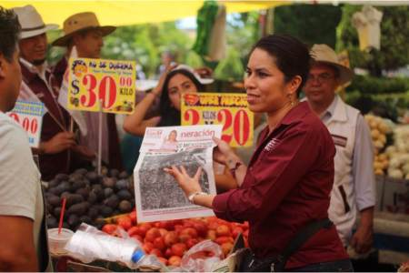 Eliminar intermediarios y precios justos a los productores del campo, Simey Olvera