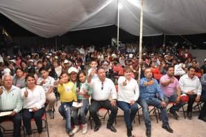 En Atotonilco de Tula muestran su respaldo a Areli Narváez