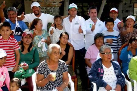 Fabrice Rodríguez va por más proyectos productivos que beneficien a las familias de zonas rurales
