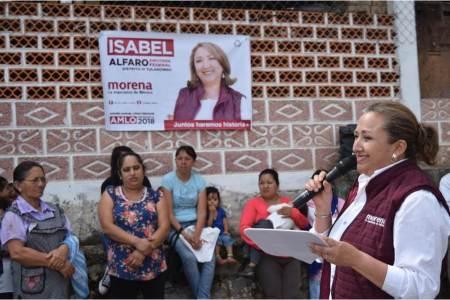 Gestionaré recursos para apoyar el arte textil hidalguense, Isabel Alfaro