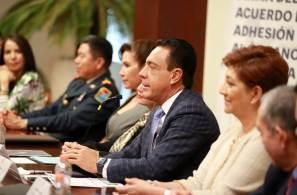Hidalgo firma Acuerdo de Adhesión para la consolidación del Sistema de Justicia Penal