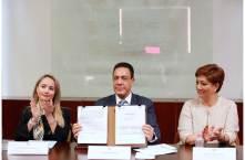 Hidalgo firma Acuerdo de Adhesión para la consolidación del Sistema de Justicia Penal4