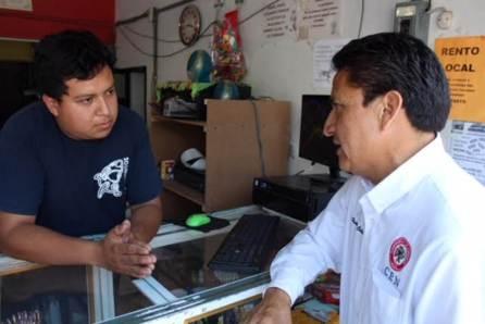 Humberto Calixto se compromete a ser la voz de sus representados en el congreso local4