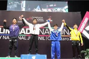 Judo abrió con oro y plata en Olimpiada Nacional 2018