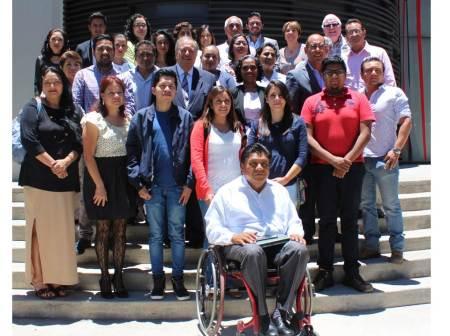 La comisión estatal y la nacional de derechos humanos capacitan a organizaciones de la sociedad civil de Hidalgo2